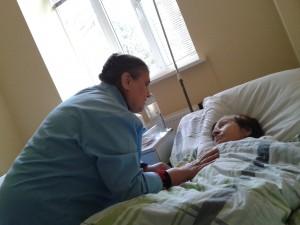 добровольцы в больнице