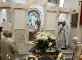 Престольный праздник в Михайловском храме